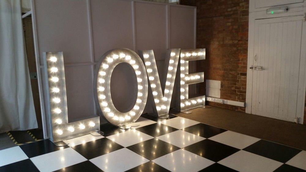 Norwood Park LOVE Letters, Southwell, Nottingham