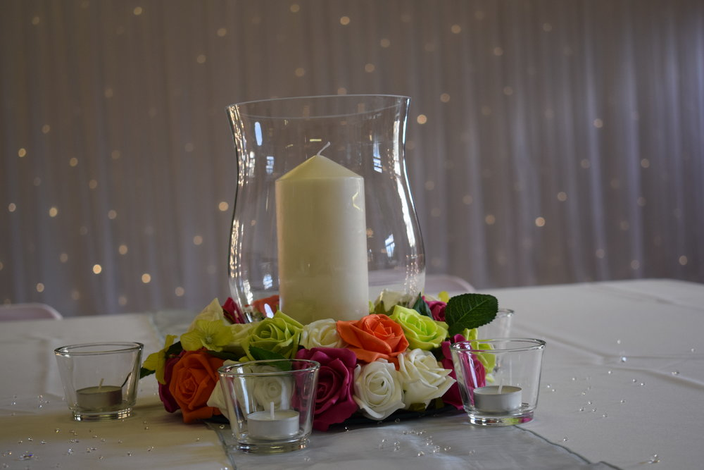 Epperstone Village Hall Wedding Decorations Nottingham