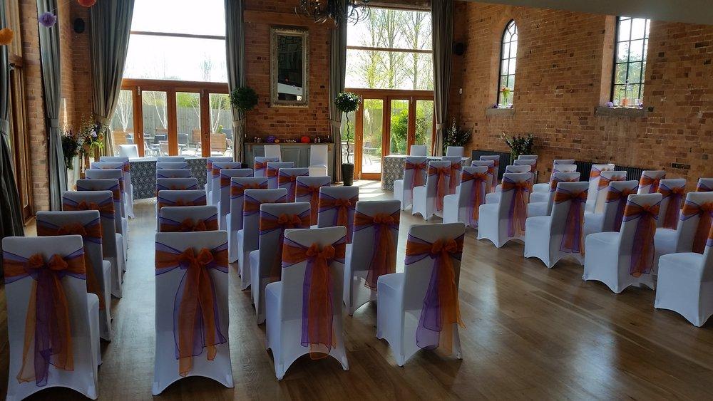 Carriage Hall Wedding, Nottingham