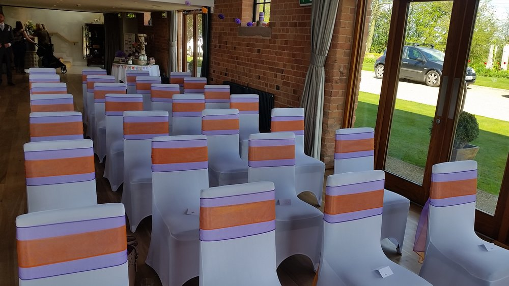 Carriage Hall Chair Covers, Nottingham