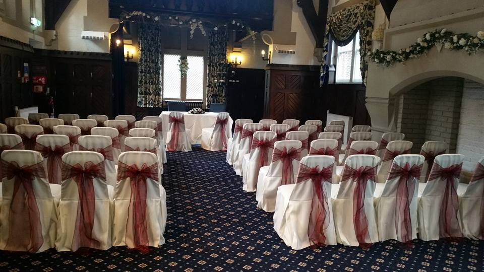 Bestwood Lodge Chair Covers, Nottingham