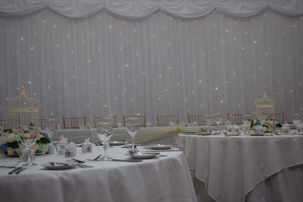 Starlight Backdrop Hire Nottingham, Derby, East Midlands