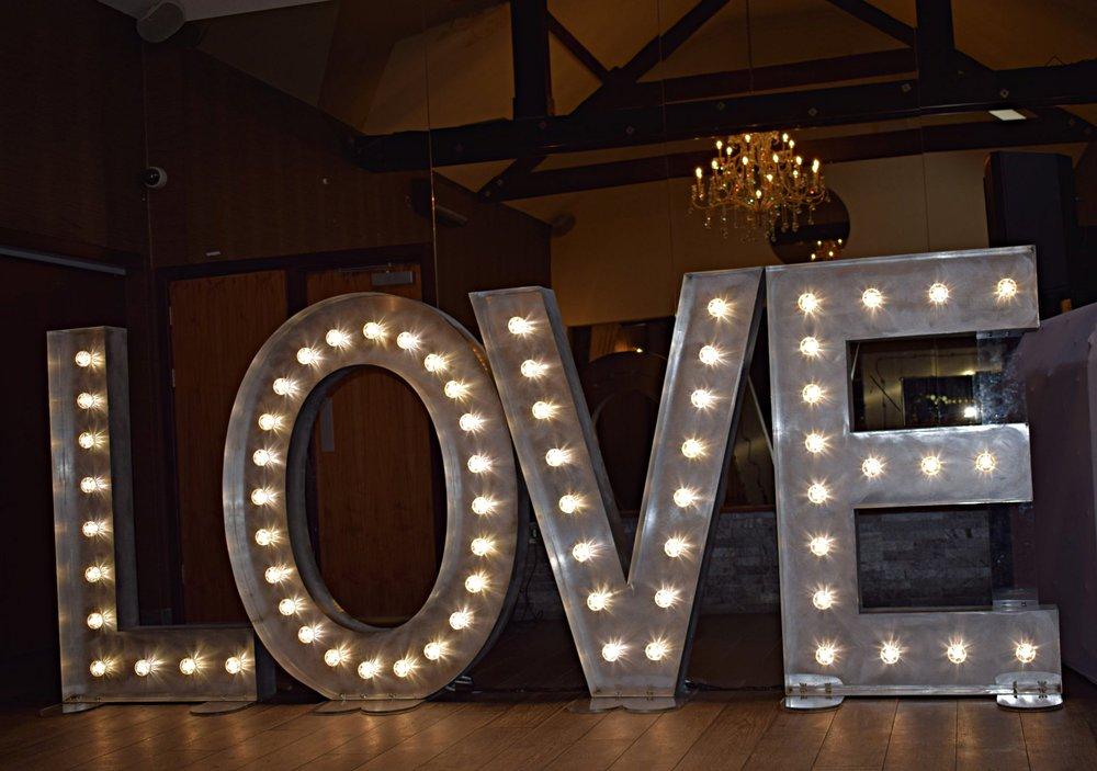 Goosedale LOVE Letters Papplewick, Nottingham