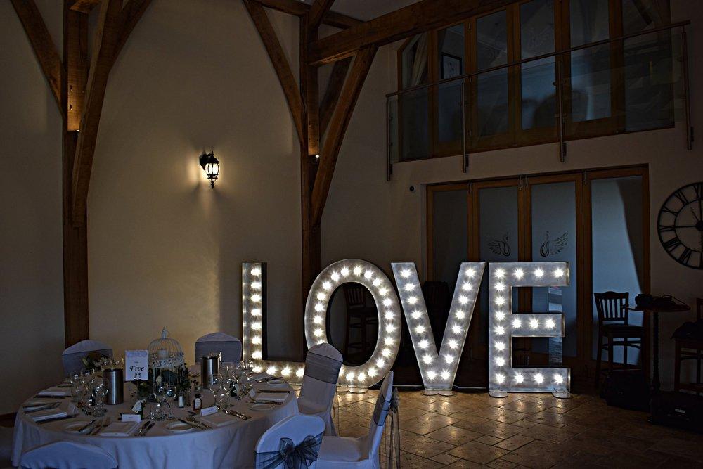 Swancar Farm Light Up LOVE Letters