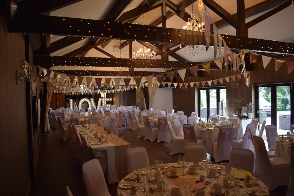 Goosedale Nottingham Wedding Decorations