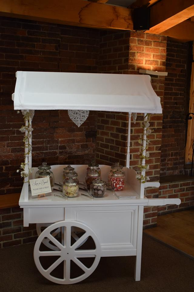 Candy/ Sweetie Cart Hire Nottingham, Derby, and the East Midlands.