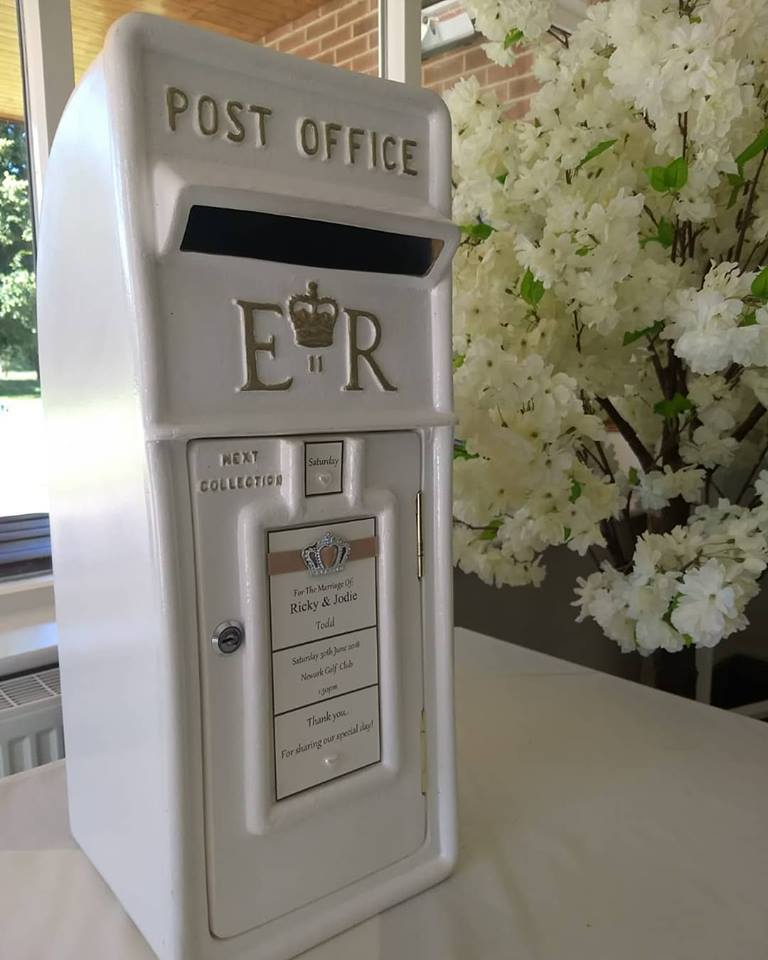 Wedding Post Box Hire Nottingham- Royal Mail Post Box