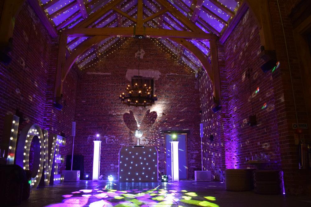 Dream Weddings and Events Ltd, DJ & Mood Lighting.JPG