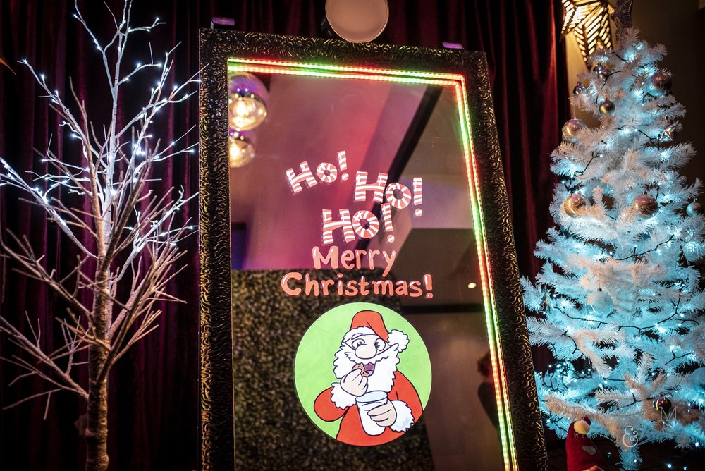 Christmas Party Magic Mirror Photo Booth Nottingham, Derby, Leicester, East Midlands