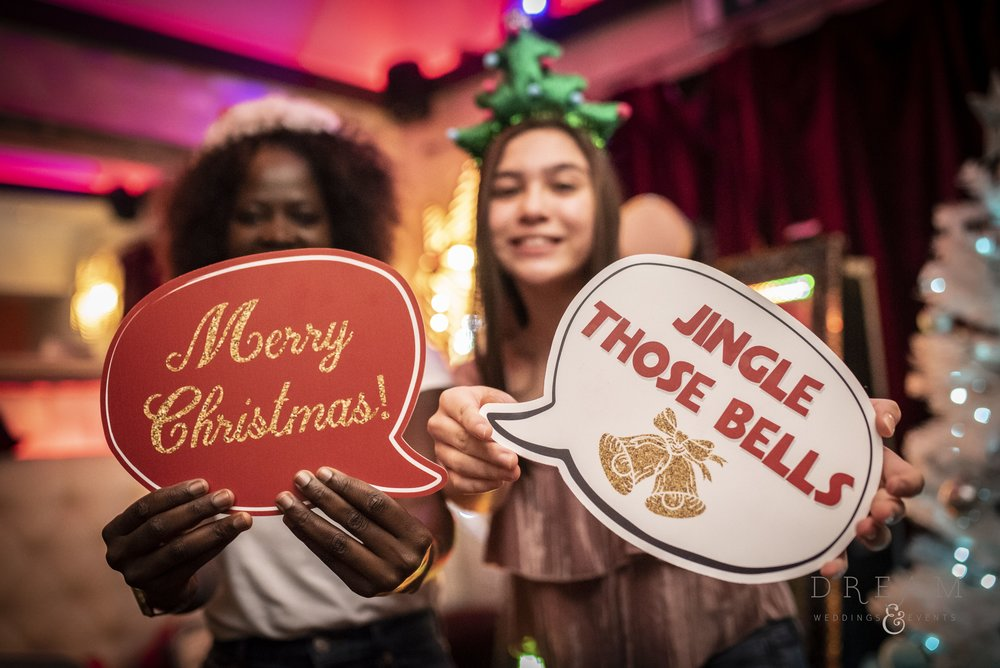 Hire Corporate Christmas Party Magic Selfie Mirror Nottingham, Derby, Leicester, East Midlands.