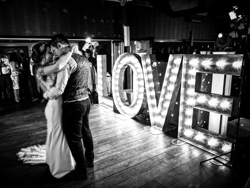Light Up LOVE Letters Nottingham