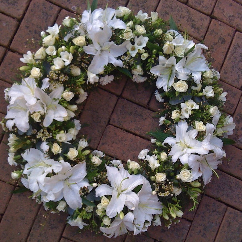 GROUPED WREATH - from £50