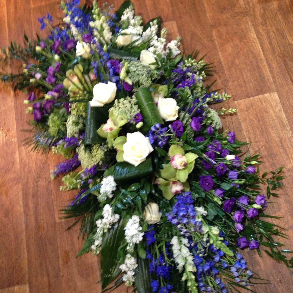 LARGE COFFIN SPRAY - from £120