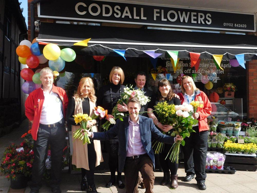 Florists Outside Codsall Flowers Shop