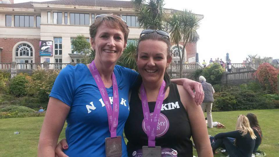 Bournemouth Marathon Festival 2015 all 26.2 miles! I'd been running regularly for 5 years - what a difference from above!