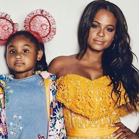 MOM CRUSH MONDAY 🌸 when I launched this page, I promised myself that for this particular series I would only feature mom's that I actually know but this picture came across my timeline and it stopped me in my tracks. There's something about this visual that made me take an intense second look.  I couldn't take my eyes off of it! Could it be @christinamilian's cool confidence, her daughter Violet Madison's pretty face and pinch-able cheeks, or that HEADBAND!!!! Either way the photo moves me and makes motherhood look marvelous. Thanks @poshkidsmag ----/// #momcrushMonday