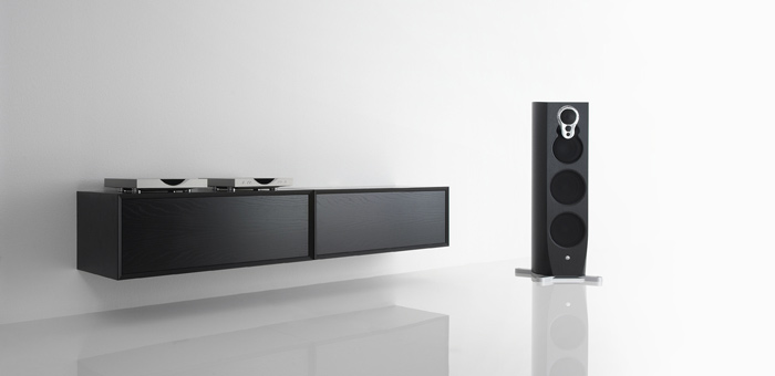 LINN Klimax HiFi on clic furniture for the ultimate hidden hifi