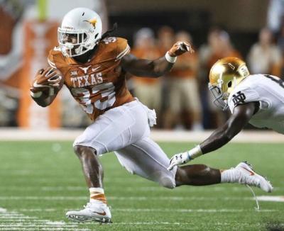 Texas RB D'Onta Foreman (Houston Chronicle)