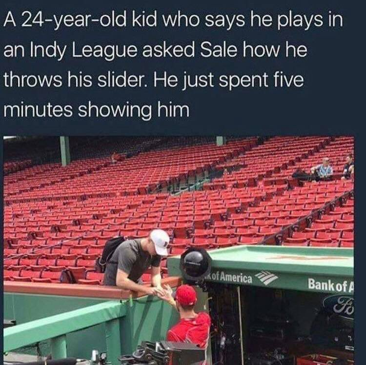 It's not just the young guys on his team he's willing to help out