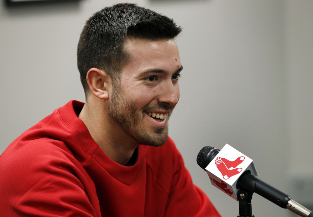 Porcello was all smiles at his first Red Sox press conference (Boston Herald)