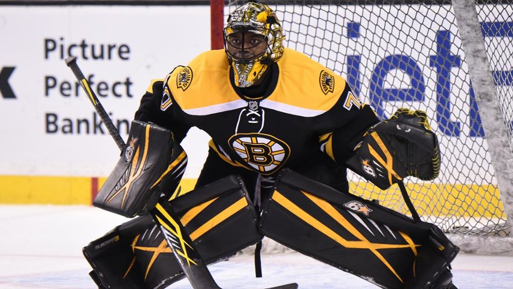 Pictured: Malcolm Subban. Courtesy of nhl.com. https://www.nhl.com/news/malcolm-subban-injured/c-278484796