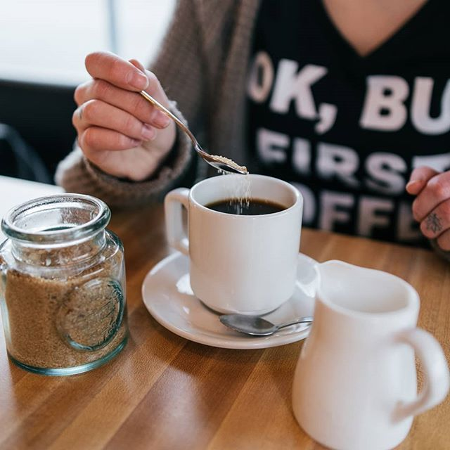 May your coffee be strong and your Monday be short #okbutfirstcoffee #monkibistro
