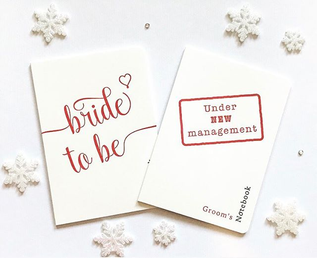 We love these delightful notebooks from @noblefineart, coming soon with our limited edition Christmas engagement box 💍🥂❄️