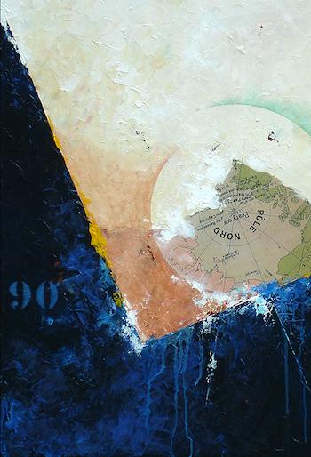 Pôle nord – (détail) Monde Calme à très agité