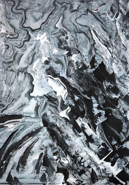 Gouffre de Fertans Acrylique sur tirage numérique – 30 x 20 cm