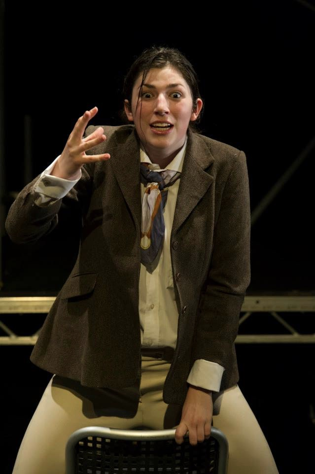 As the Horse-Courser in Faustus, The Marlowe Studio Theatre 2014. Photo Paul Seaby