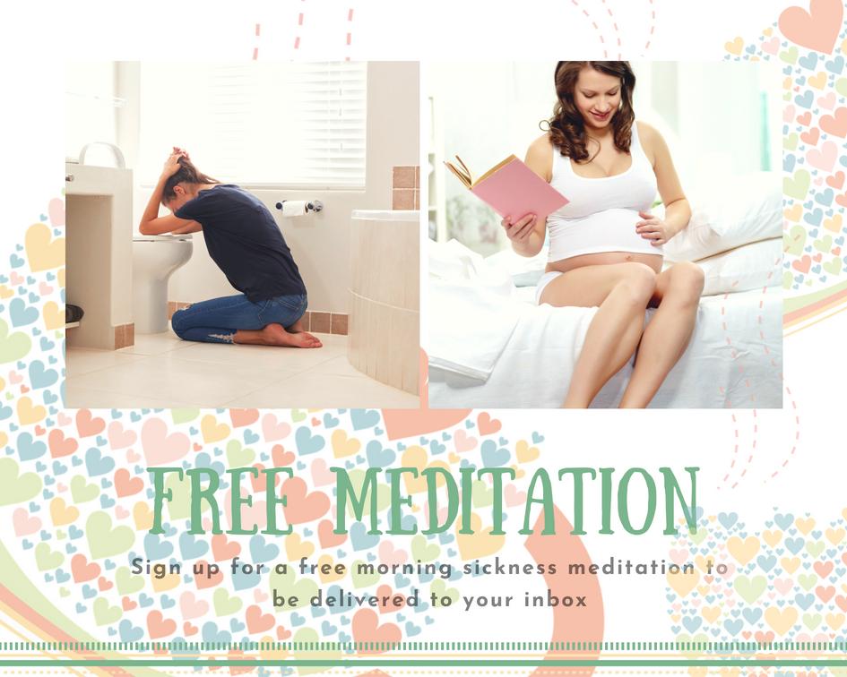 Free meditation for mornig sickness