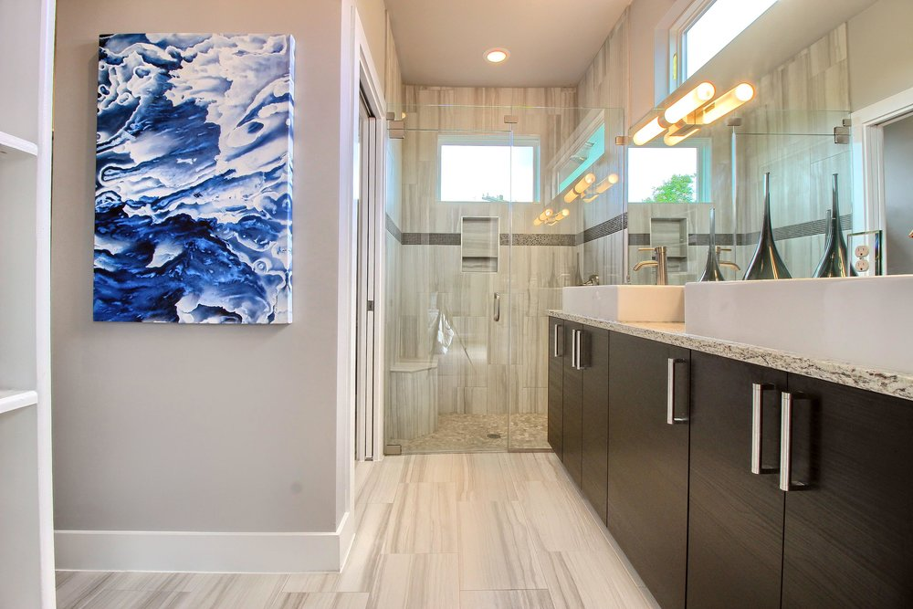 professional HDR photography - master bath