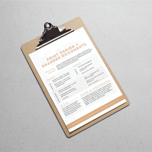 Before you Go… - Get your Branded Documents in Check with this Guide!