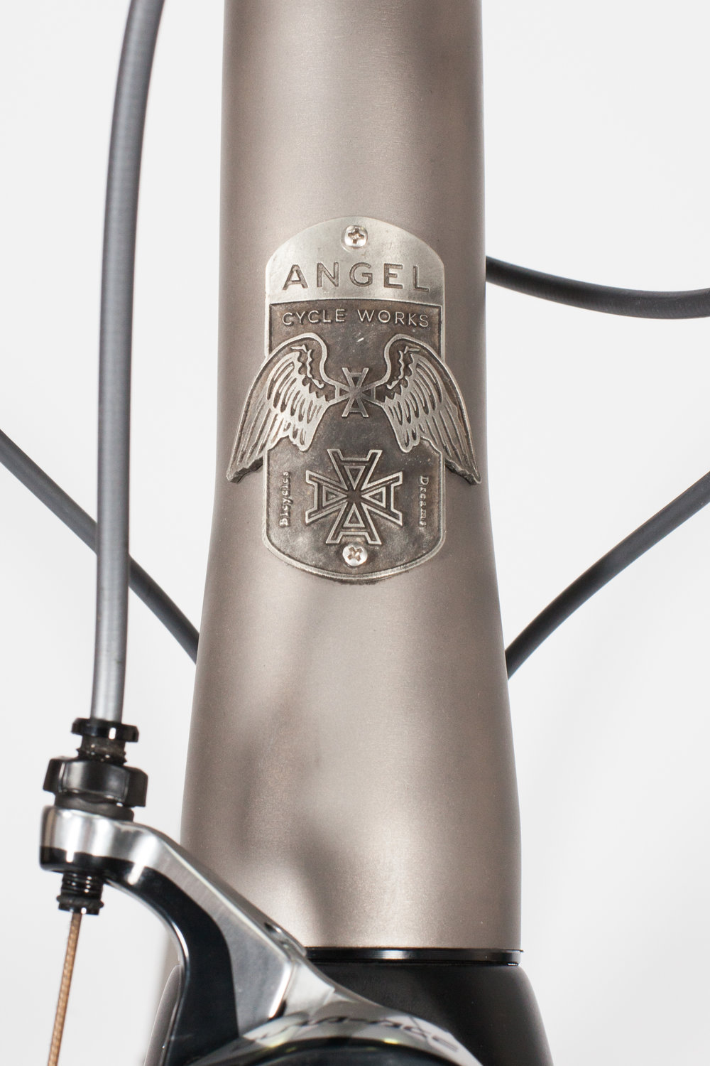 Angel Cycle Works Allegro (Road Racing) / Custom Titanium.