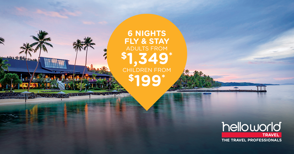 CLICK THE PIC FOR A SUPER DEAL FROM OUR PREMIER PARTNER helloworld travel