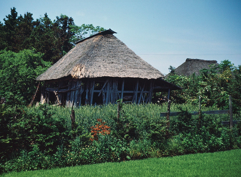 124- Shed with Straw Roof