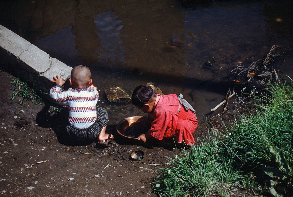 34- Children Playing in theWater