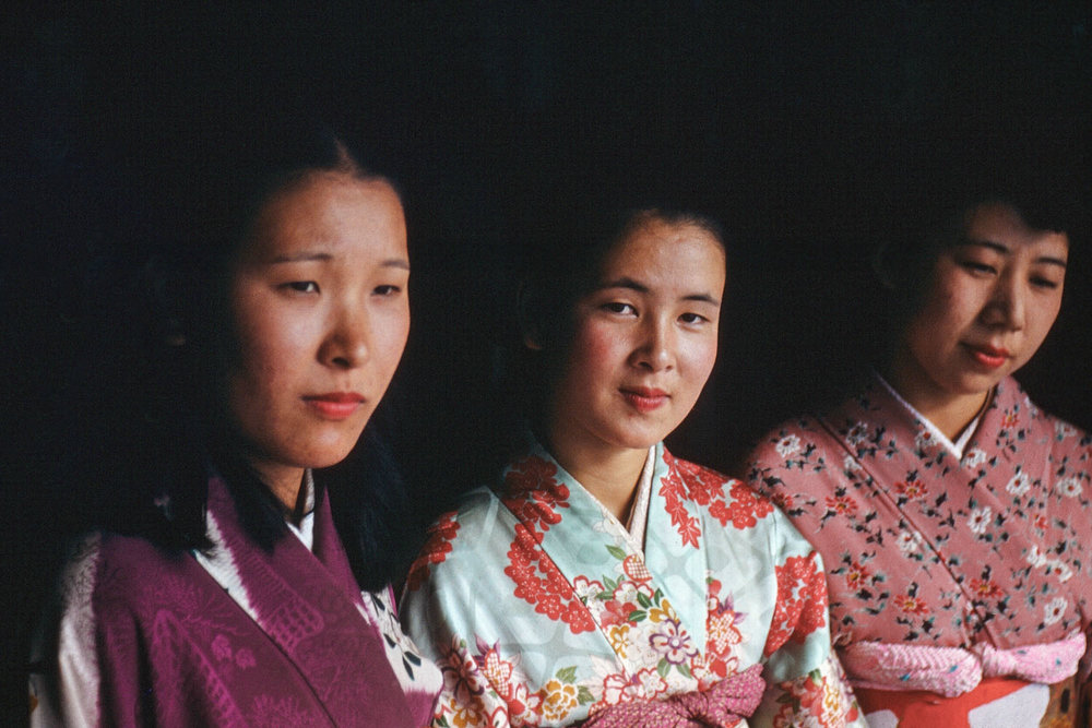 351- Three Women in Kimonos
