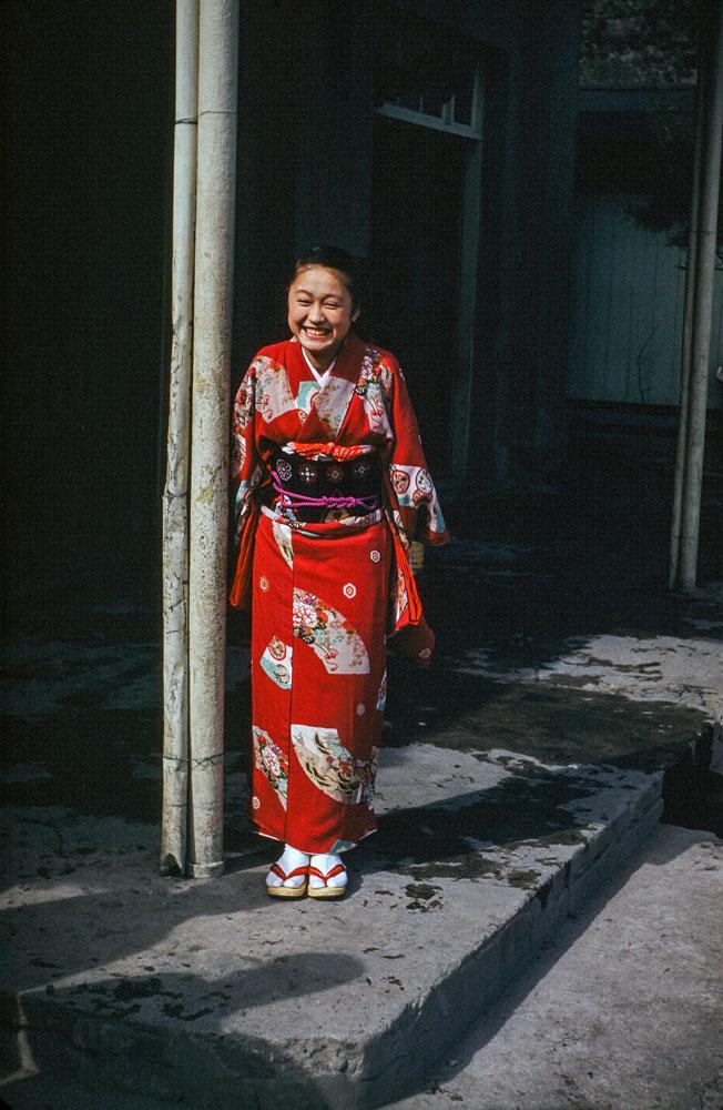 377-Woman in Kimono