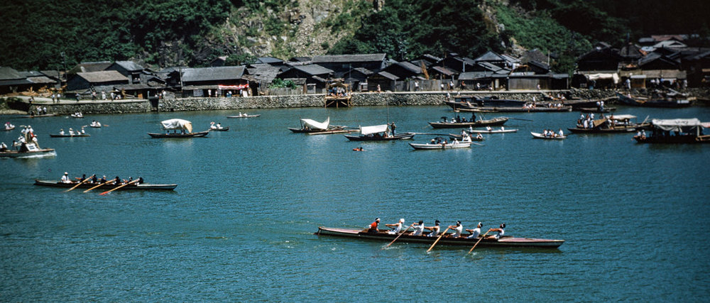 423-Kyukitamai River,  Rowing Contest