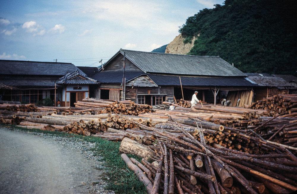 427- Kykitakami River , Lumber Mill
