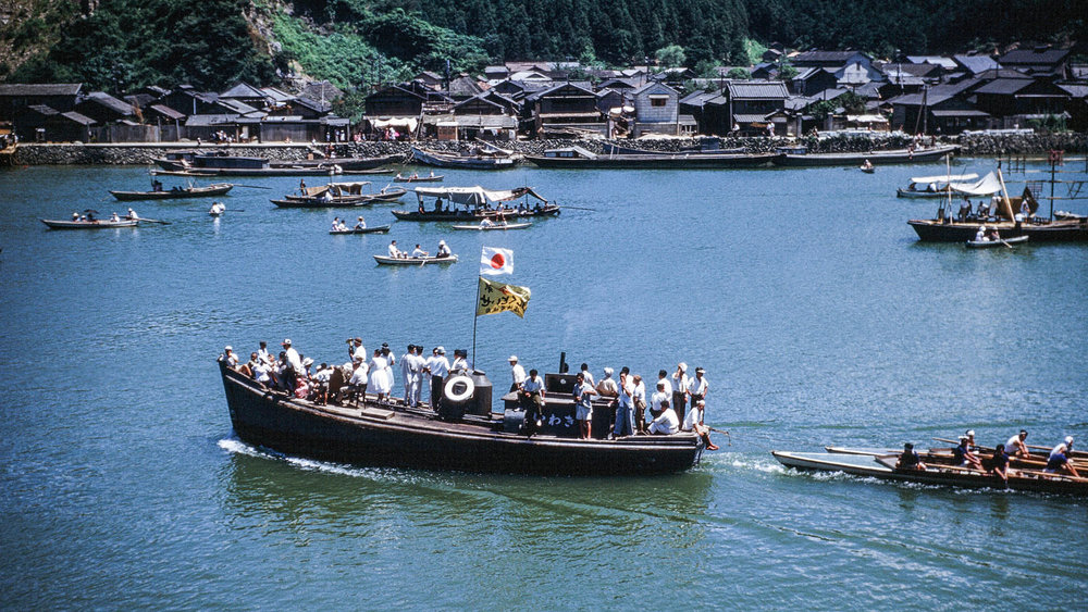 429- Kyukitakami River, Boats on River for ? Event