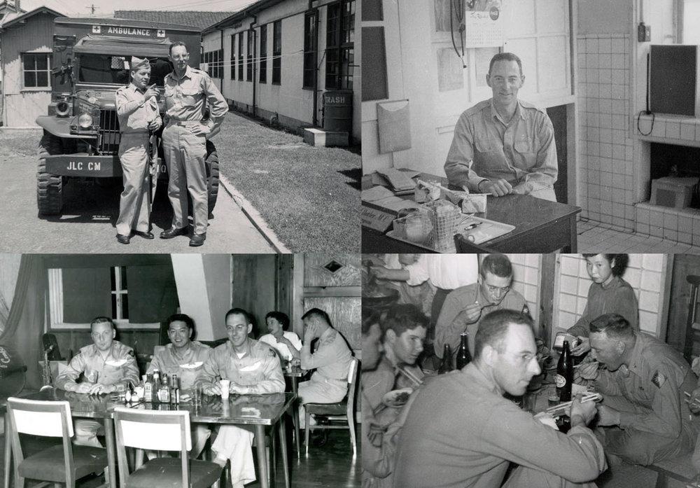 George Butler at Camp Matsushima 1951