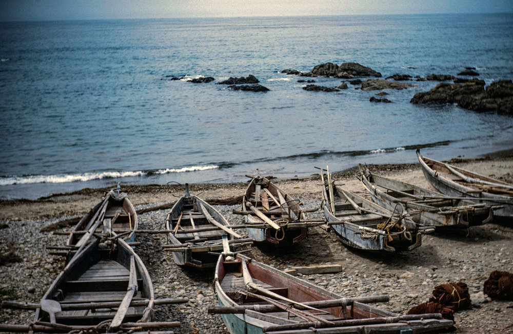 493-Boats on Shore