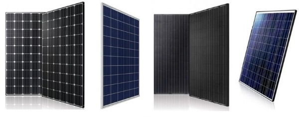 Infinity Solar carries high efficiency Monocrystalline and Polycrytalline Solar Panels. Most people prefer Monocrystalline (Black) Panels, and so do we!