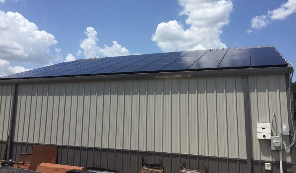 Plano commercial solar panels