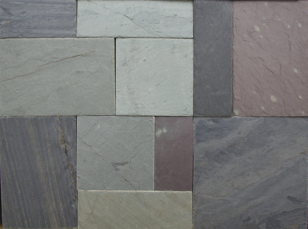 Flagstone ace stone supply for Vermont slate colors