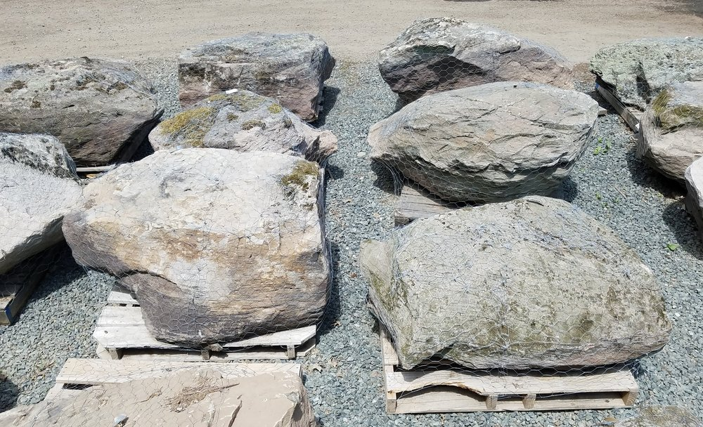 Large Fieldstone Boulders
