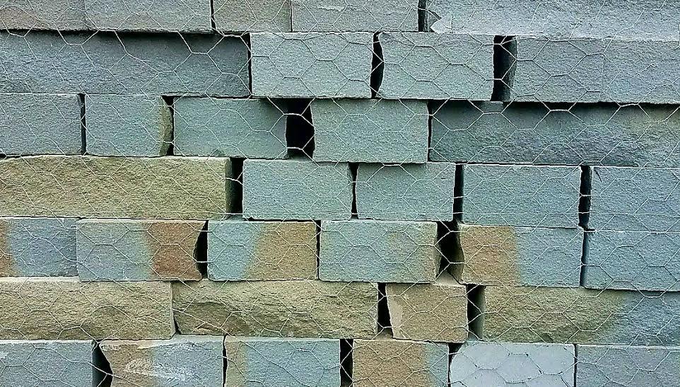 Bluestone Veneer Wall
