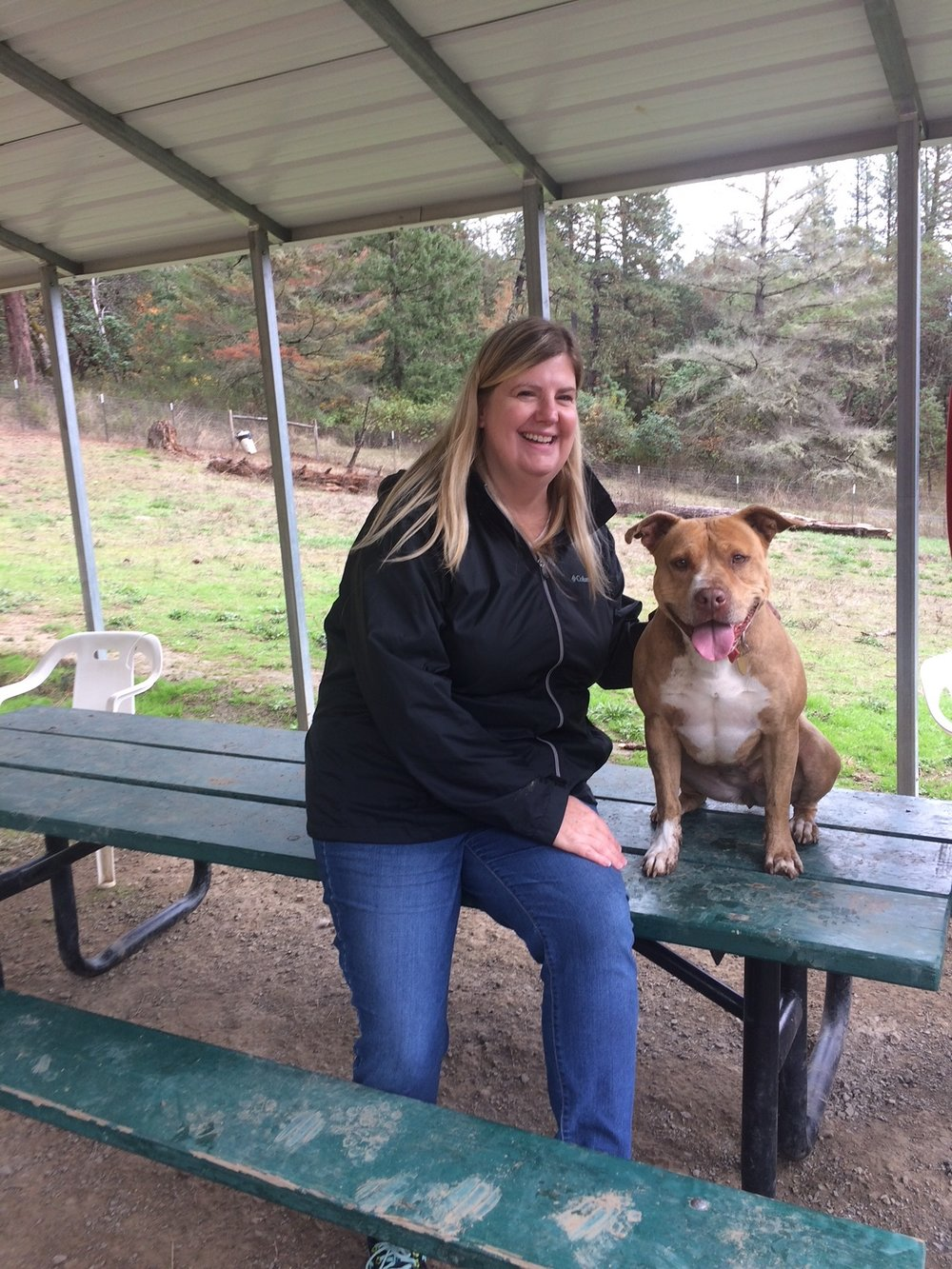 After waiting for over two years at the Del Norte County Animal Control shelter, Jane is ready to go home with her new mom.